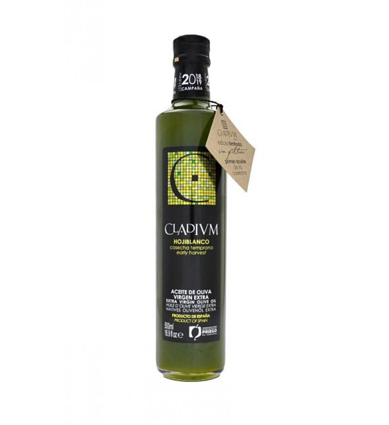 Aceite de Oliva CLADIVM Cosecha temprana Verde sin filtrar Hojiblanco 500ml