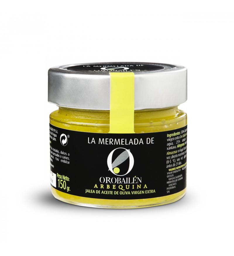 Mermelada Oro Bailén de aceite de Oliva Arbequina 150 gr.