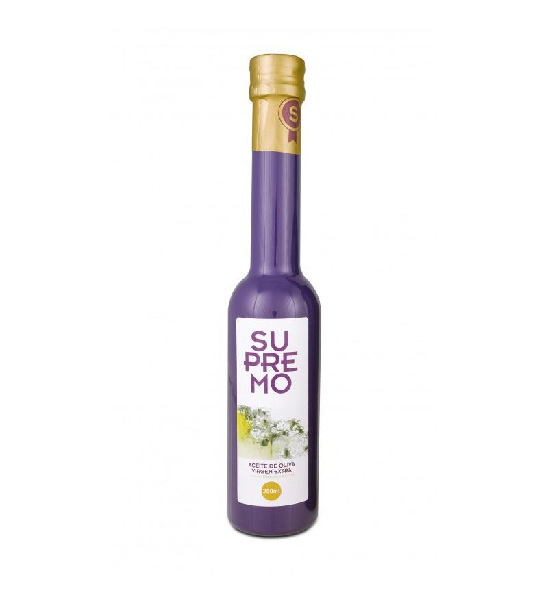 Aceite de Oliva Supremo Picual caja 12 botellas 250ml