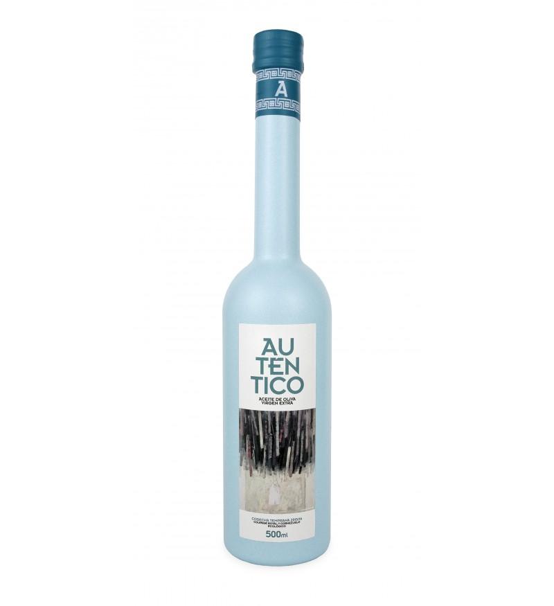 Aceite de Oliva Auténtico Ecológico caja de 6 botellas 500ml