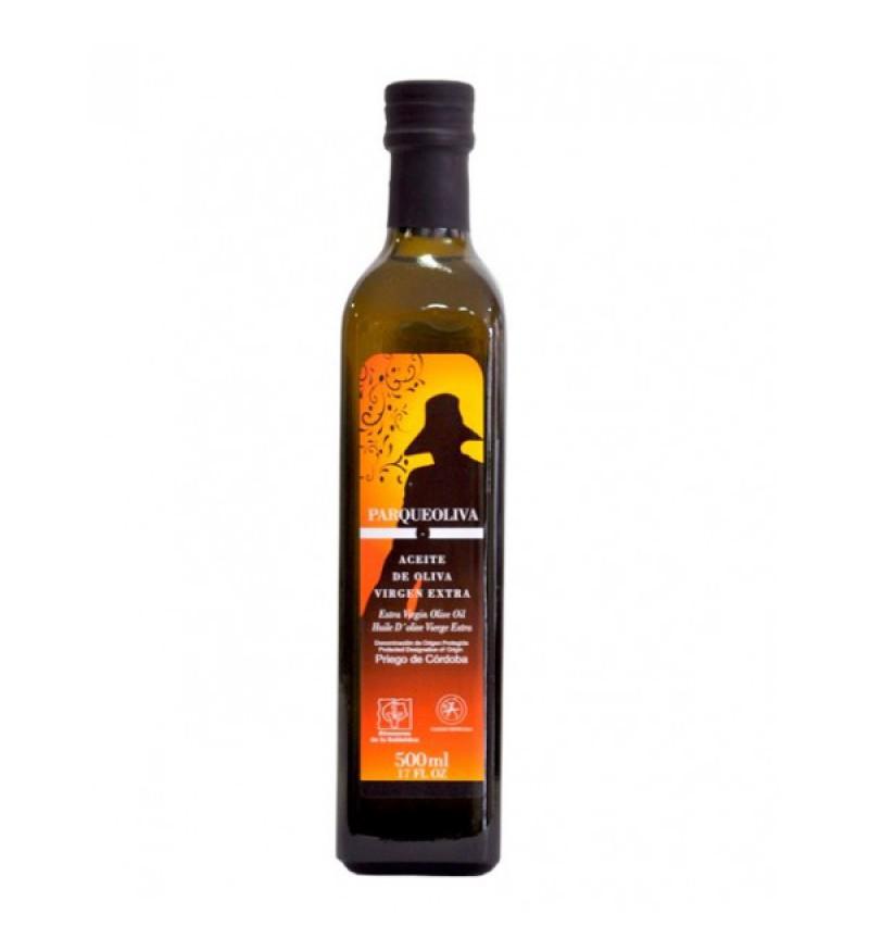 Aceite de Oliva Parqueoliva DOP Caja 6 botellas 500ml