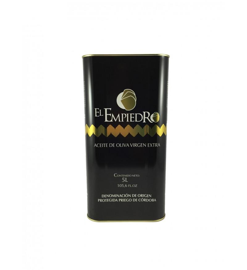 Aceite de Oliva El Empiedro Caja de 3 latas 5 L