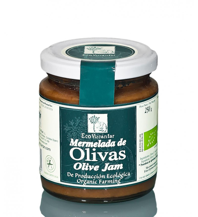 Mermelada de Olivas ECO Vizcántar 250gr