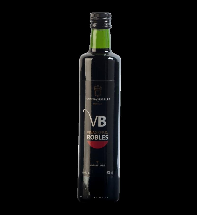 Vinagre Ecológico de Pedro Ximénez VB Bodegas Robles 500ML