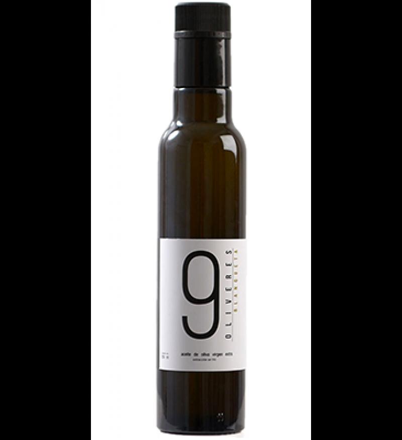 Aceite de Oliva 9 Oliveres Blanqueta Botella 250ml