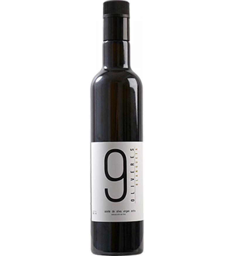 Aceite de Oliva 9 Oliveres Blanqueta Botella 500ml