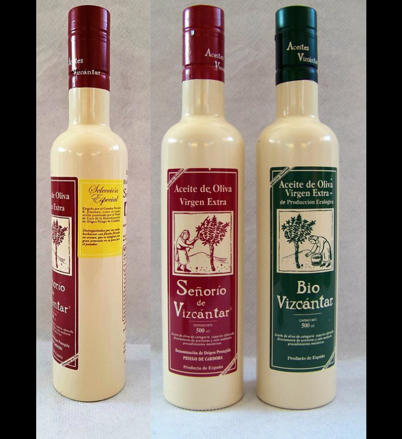 Aceite de Oliva Vizcántar Lote Degustación 3X500ml