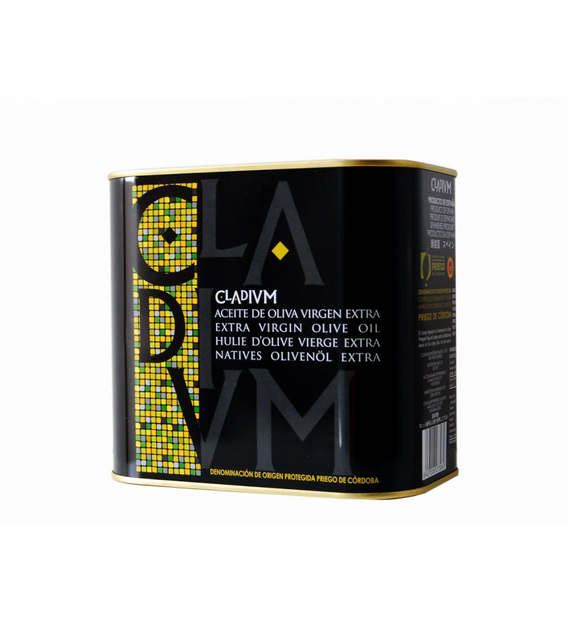 Aceite de Oliva CLADIVM Picudo Caja de 4 Latas de 2L