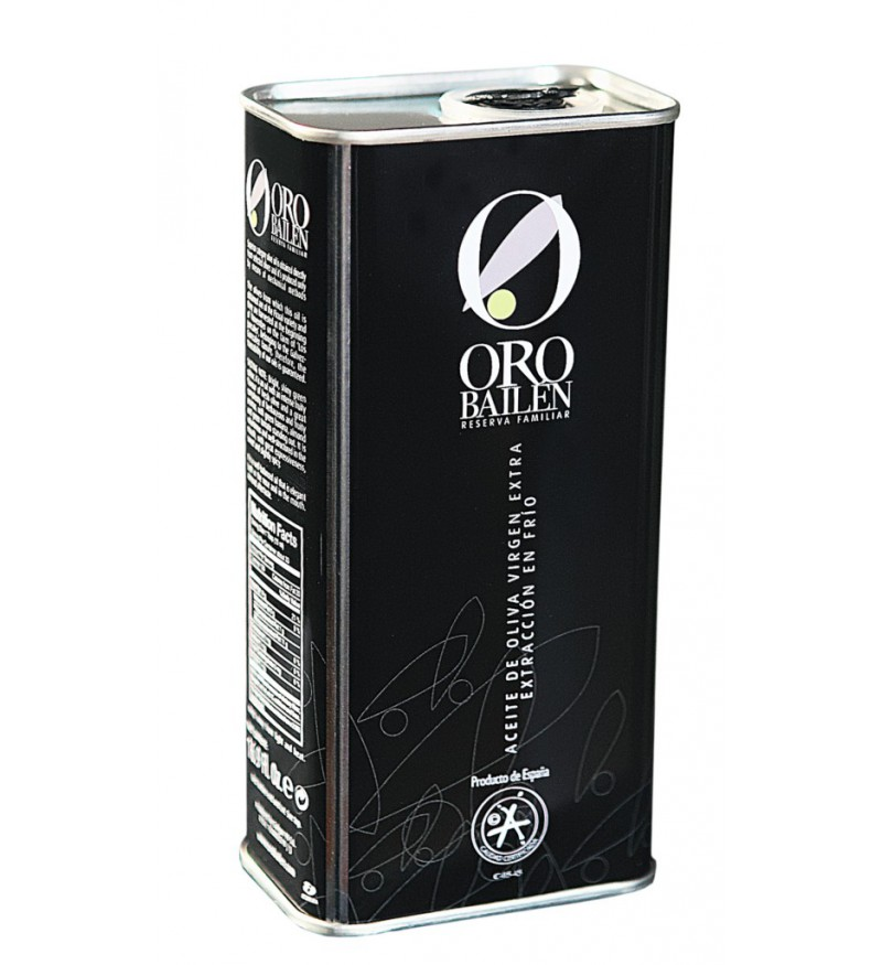Aceite de Oliva Oro Bailén Reserva Familiar Picual Lata 500ml
