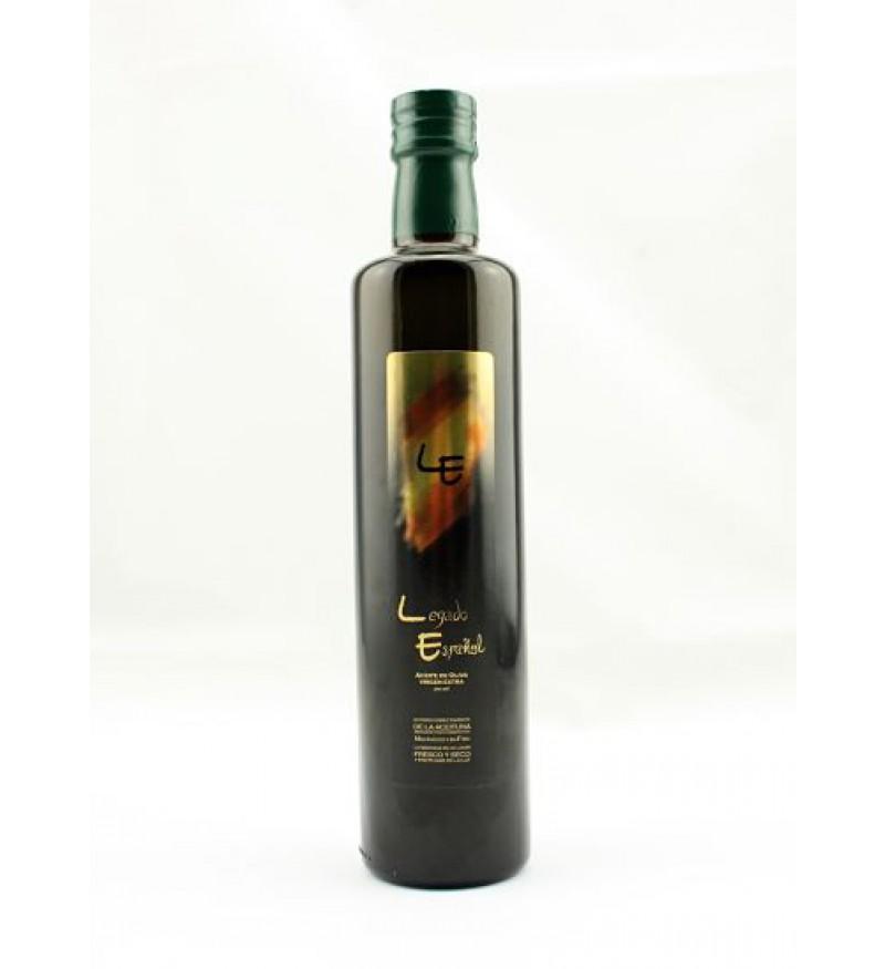 Aceite de Oliva Legado Español Premium sin filtrar 500ML