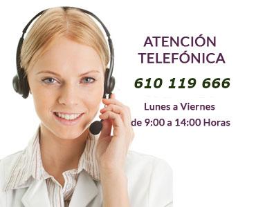 Atención Telefonica Sentir Oliva